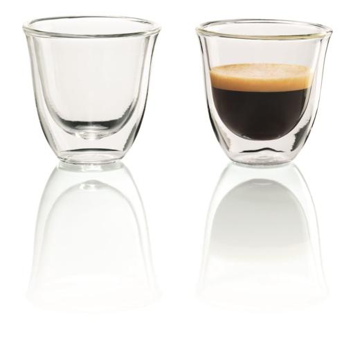 Obrázek z Delonghi skleničky na espresso 60 ml