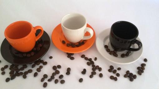 Obrázek z WAECHTERSBACH Sada šálků na espresso tricolor 6/6 ks