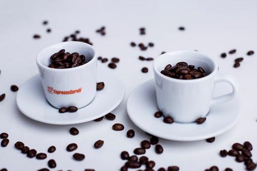 Obrázek z EspressoServis šálek s podšálkem 60 ml, sada 2 ks