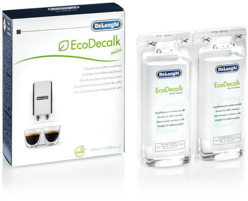 Obrázek z DeLonghi EcoDecalk mini - dekalcifikační prostředek 2x100 ml
