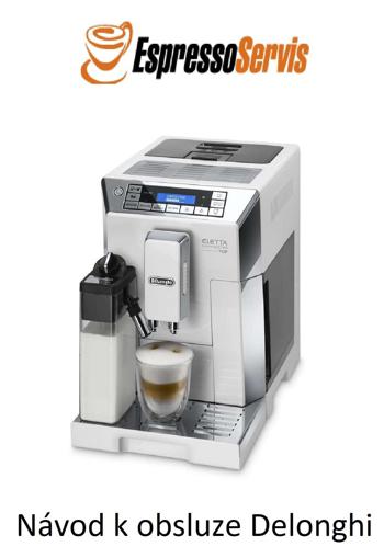 Obrázek z Návod k obsluze Delonghi Eletta Cappuccino TOP ECAM 45 760 W CZ