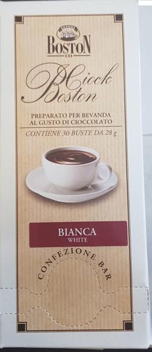 Obrázek z Instantní horká čokoláda monoporce(bílá) 30ks/bal