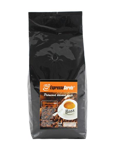 Obrázek z EspressoServis BOSS Zrnková čerstvě pražená káva 1000g