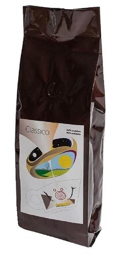 Obrázek z EspressoServis CLASSICO Zrnková čerstvě pražená káva 250 g