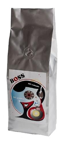 Obrázek z EspressoServis BOSS Zrnková čerstvě pražená káva 250g